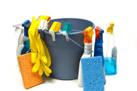 Cleaning Tips for your Move In - cleaning materials